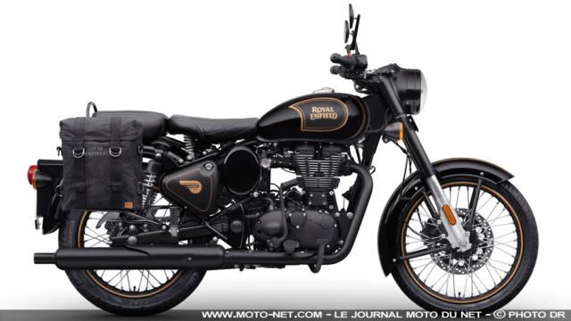 Classic Tribute Black : le mono 500 de Royal Enfield va cesser de battre Tribut10