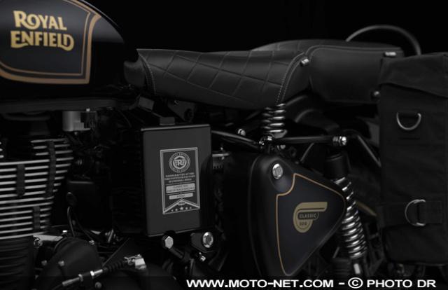 Classic Tribute Black : le mono 500 de Royal Enfield va cesser de battre Tribut15