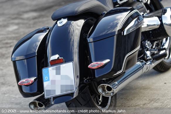 Essai BMW R18 B - B comme Bagger Valise11