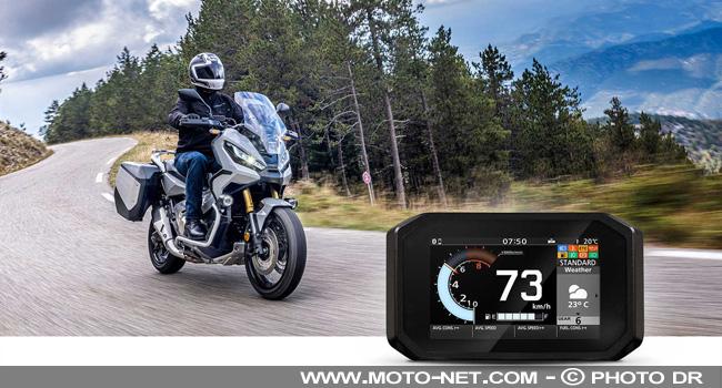 Application mobile Honda Roadsync pour moto et scooter Vghgt10