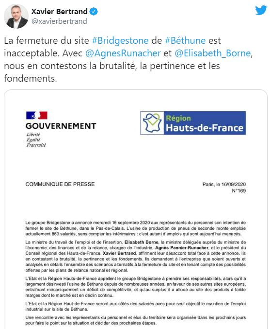 BRIDGESTONE - L'usine de Béthune va fermer Ytytyt11
