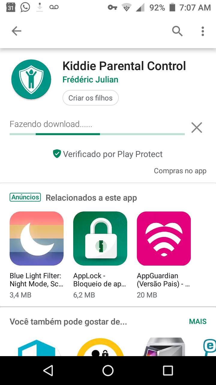 KIDDIE PARENTAL CONTROL - O Melhor Bloqueador de Aplicativos e Usuários do Android 111