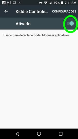 KIDDIE PARENTAL CONTROL - O Melhor Bloqueador de Aplicativos e Usuários do Android 1110