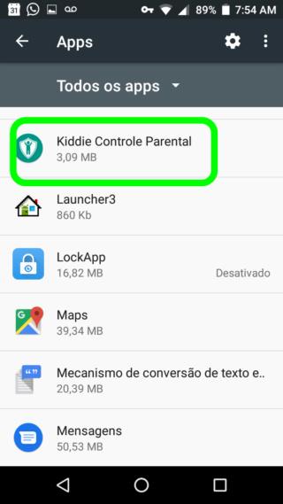 KIDDIE PARENTAL CONTROL - O Melhor Bloqueador de Aplicativos e Usuários do Android 1210
