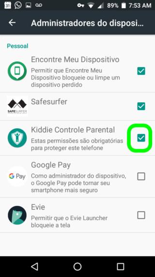 KIDDIE PARENTAL CONTROL - O Melhor Bloqueador de Aplicativos e Usuários do Android 710
