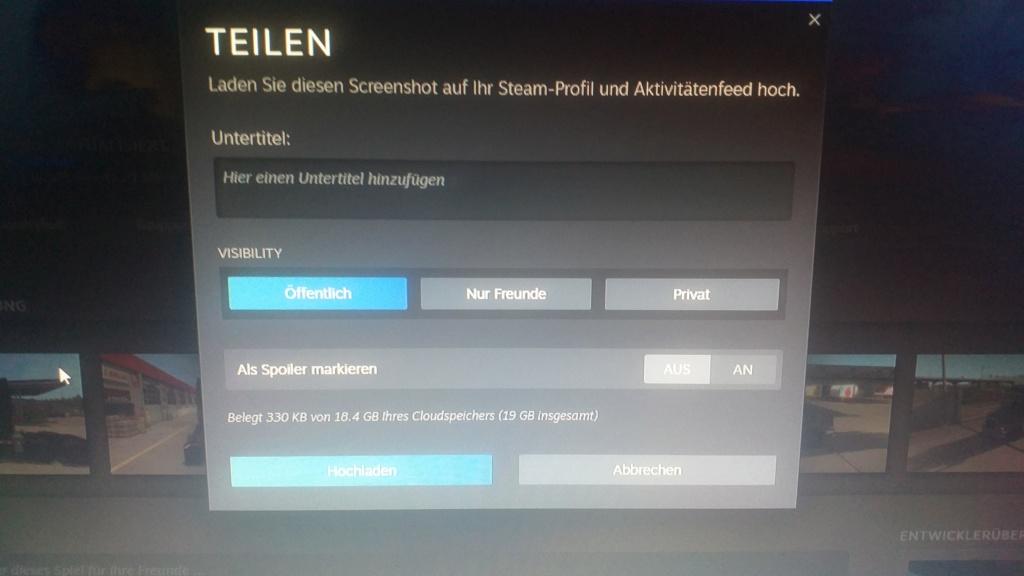 Steam Frage 20191110