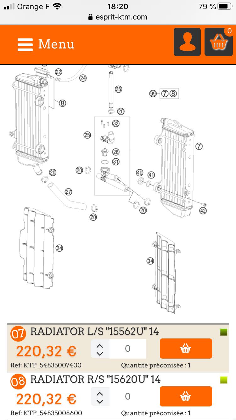 [Recherche] Radiateurs KTM EXC125 2012 3e8c7f10