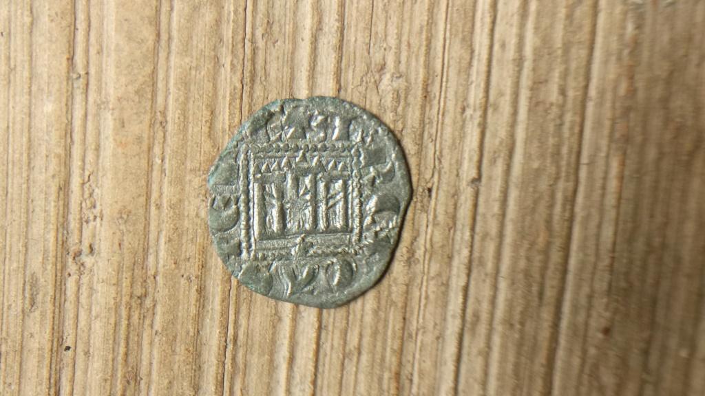 Dinero noven de Alfonso XI. Coruña Alfons10