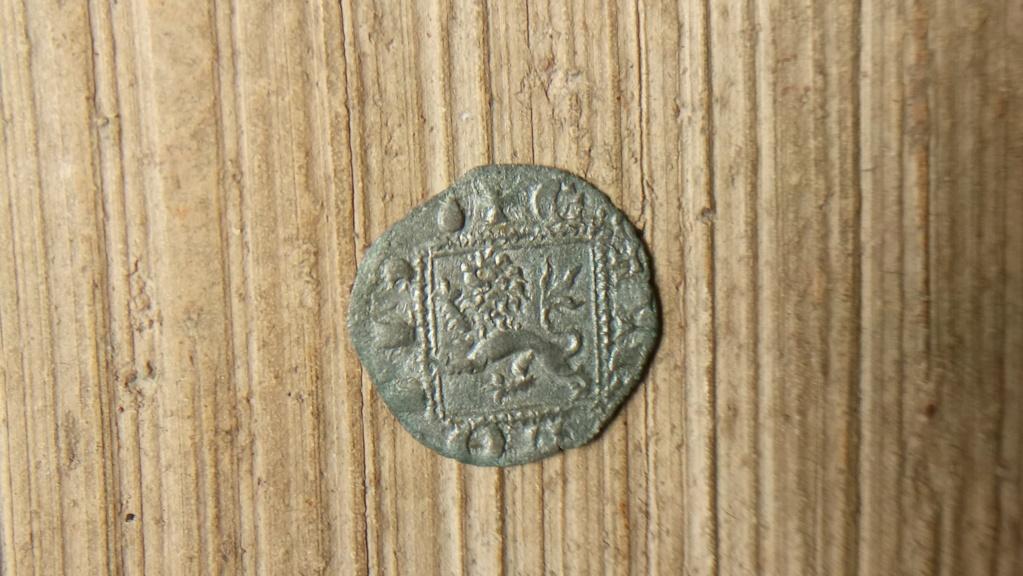 Dinero noven de Alfonso XI. Coruña Alfons11