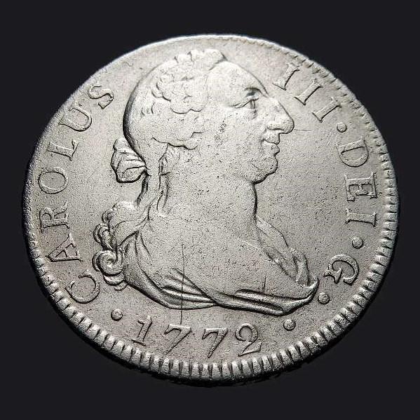 2 reales Carlos III, Madrid, 1.779 Carlos23