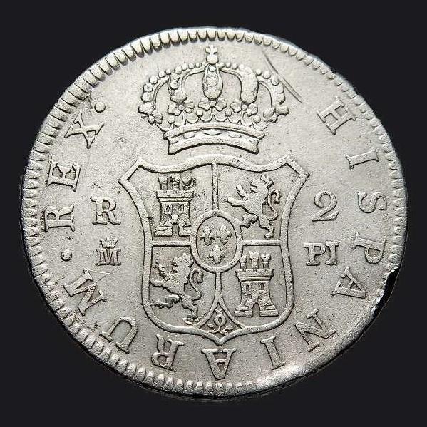 2 reales Carlos III, Madrid, 1.779 Carlos24
