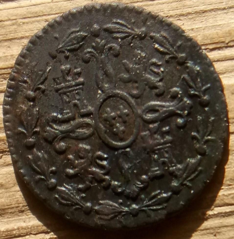 Carlos III - 2 maravedís de Segovia, 1778. Carlos26