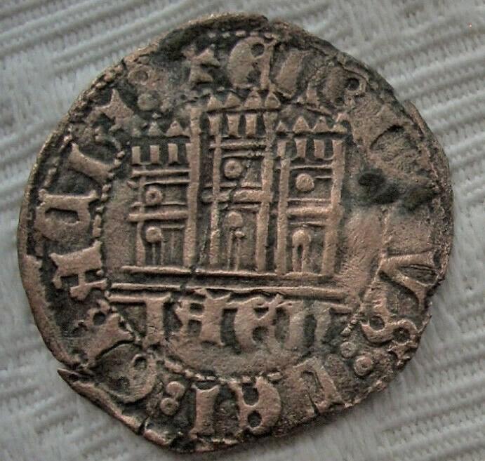 Medio cuarto de Enrique IV - Jaén Enriiv11