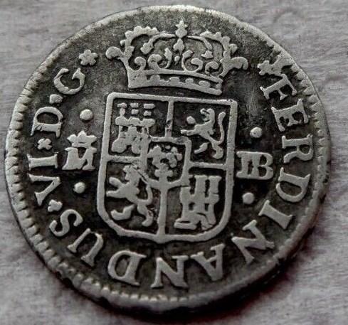 Medio real Fernando VI, 1.752 Madrid Fernad11