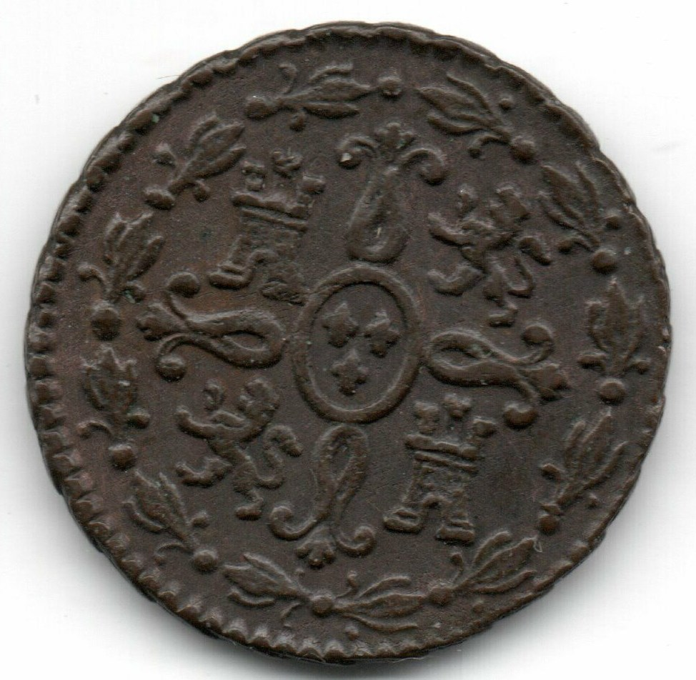 Fernando VII - 2 maravedís 1828 Fernan16