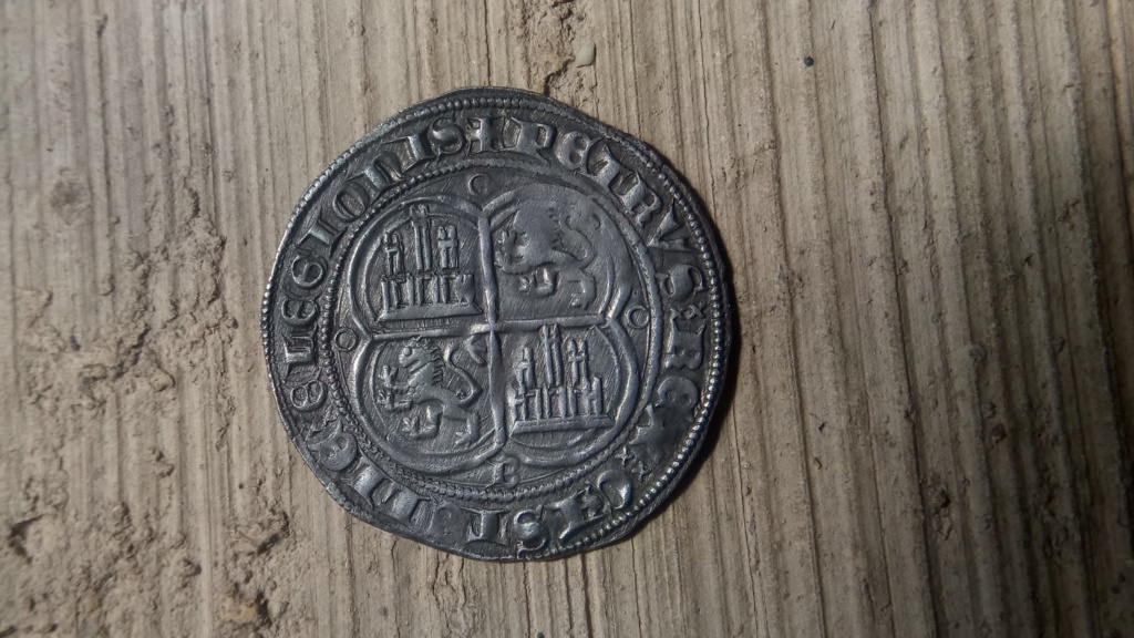 Real de Pedro I - estrellas (Burgos, 1350-1369). Pedrob12
