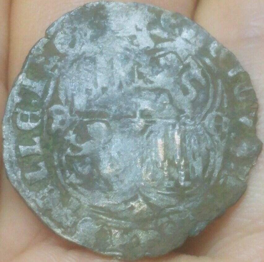 Real de vellón de Enrique II. Emisión post-bélica 1369. Segovia S-l16021