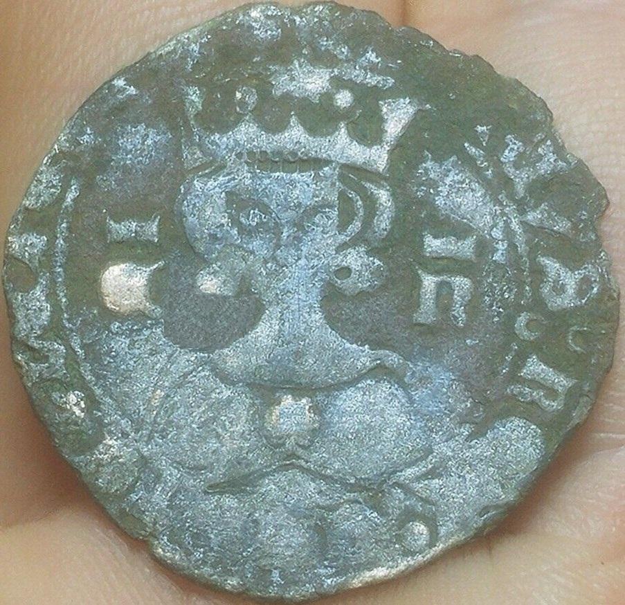 Real de vellón de Enrique II. Emisión post-bélica 1369. Segovia S-l16022
