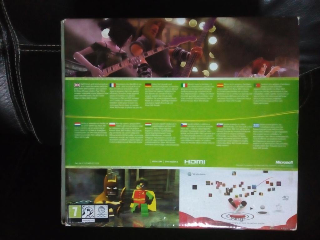 [VDS]Xbox 360 pack arcade + DD 60 Go + 2 manettes + 16 jeux >>> 80€ Img_2027