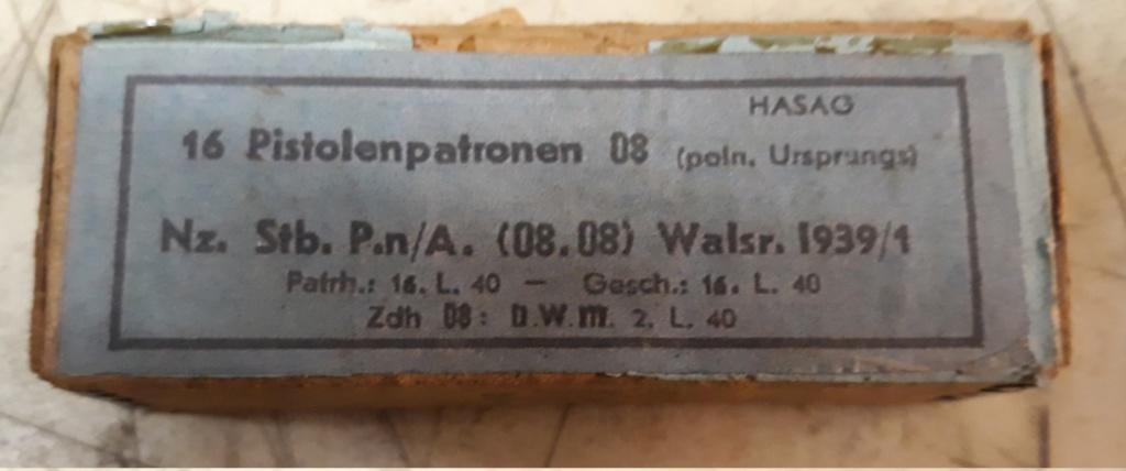 Ma petite collection de boites 9 mm Luger allemandes 20200113
