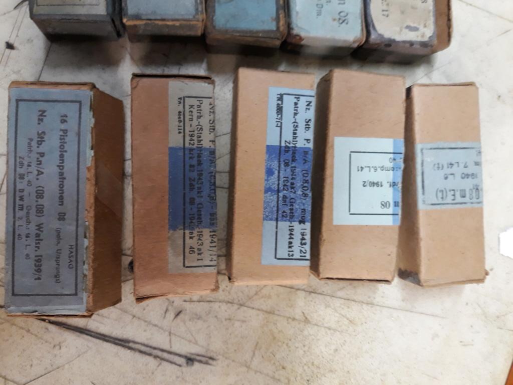Ma petite collection de boites 9 mm Luger allemandes 20200114