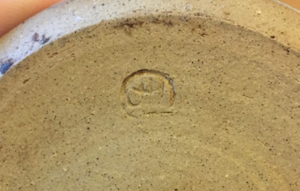Small Stoneware jug Img_2814