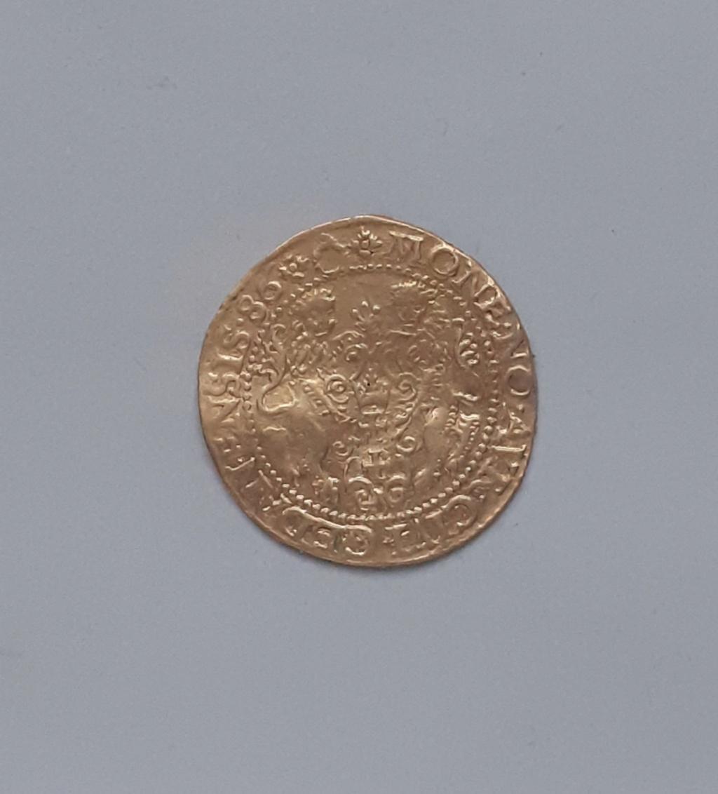 Ducat d'or polonais pour Stephen Bathori (1586) ... 20191210