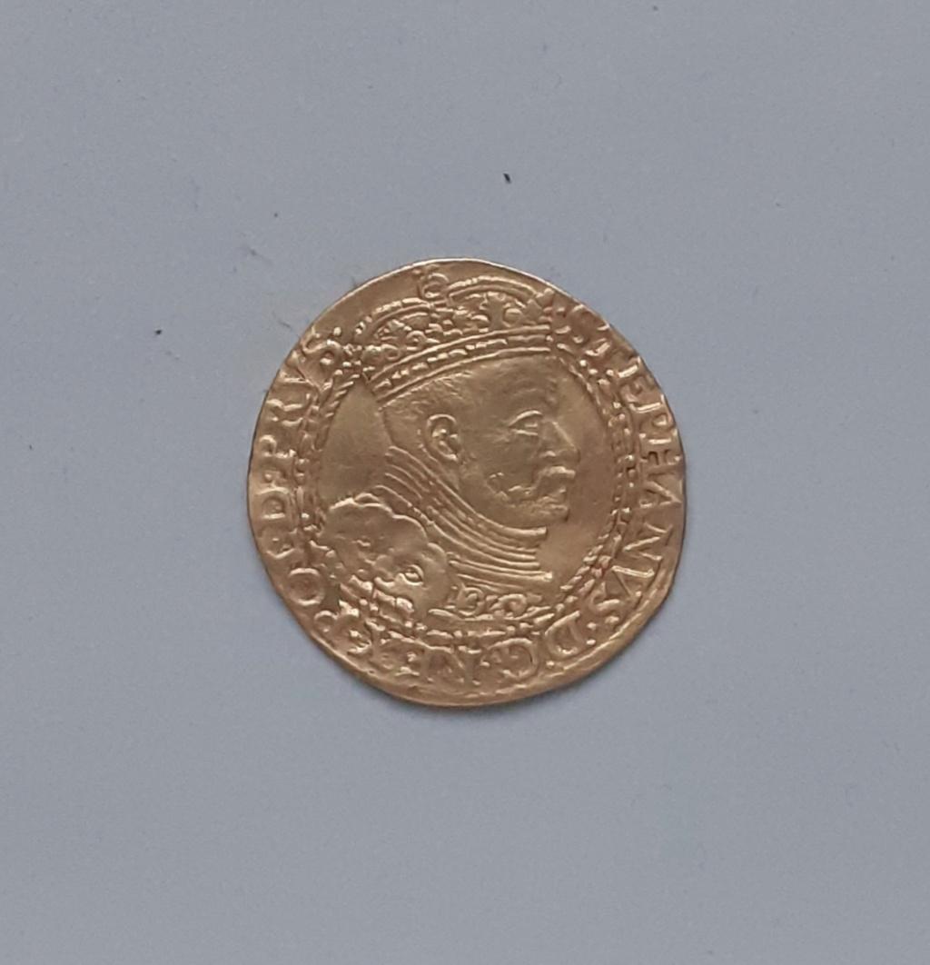 Ducat d'or polonais pour Stephen Bathori (1586) ... 20191211