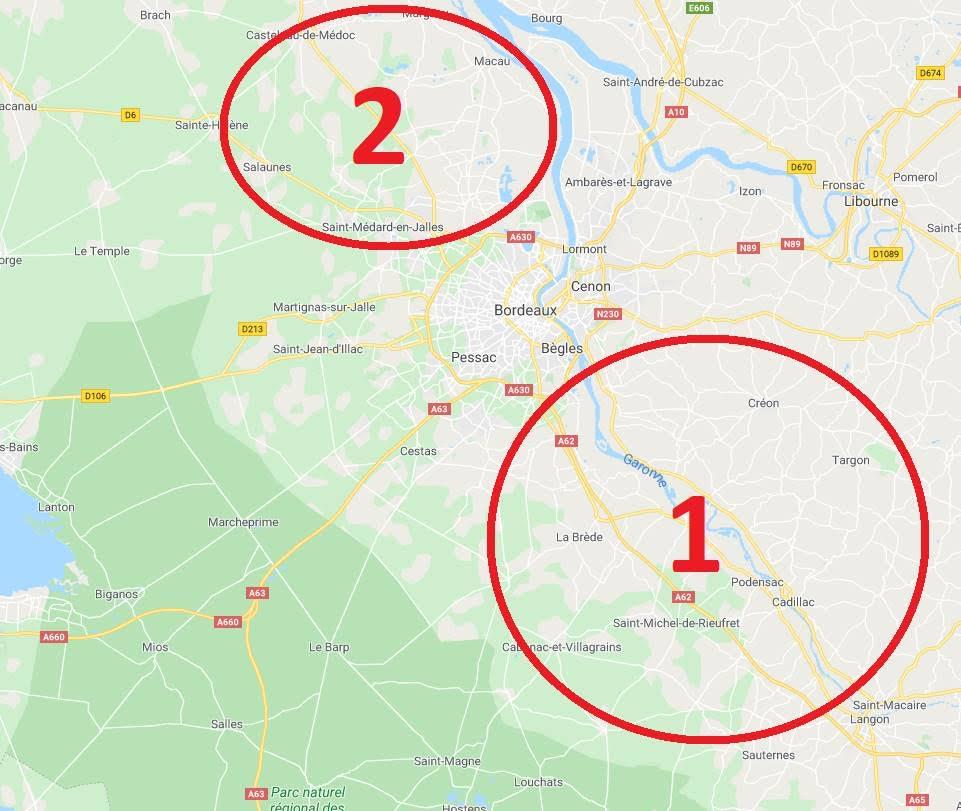 Recherche de pistes, tracés, itinéraires dans le sud ouest [Bordeaux] Cc74b610