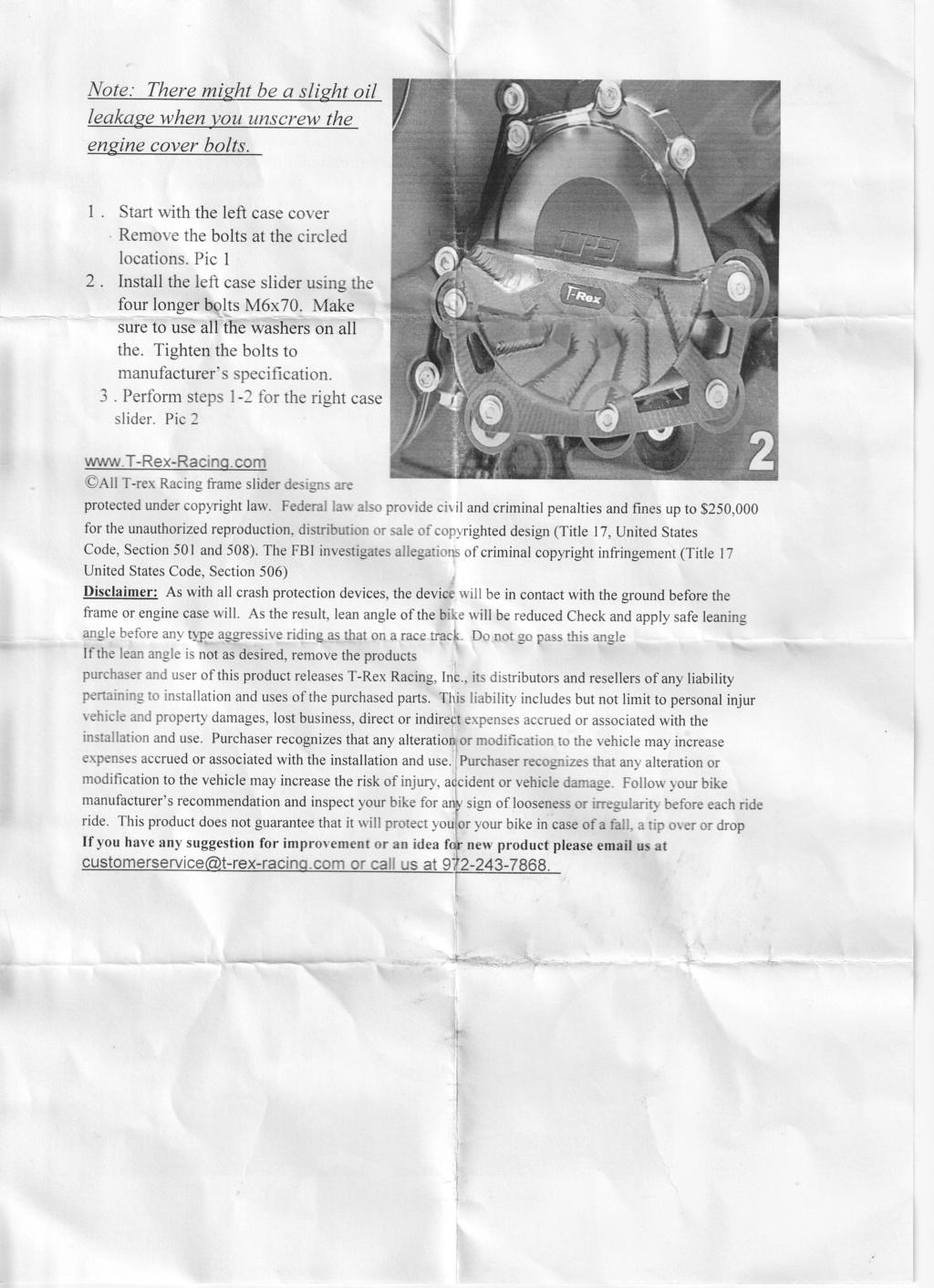 Présentation protection Moteur T-Rex pour CP3  Instal10