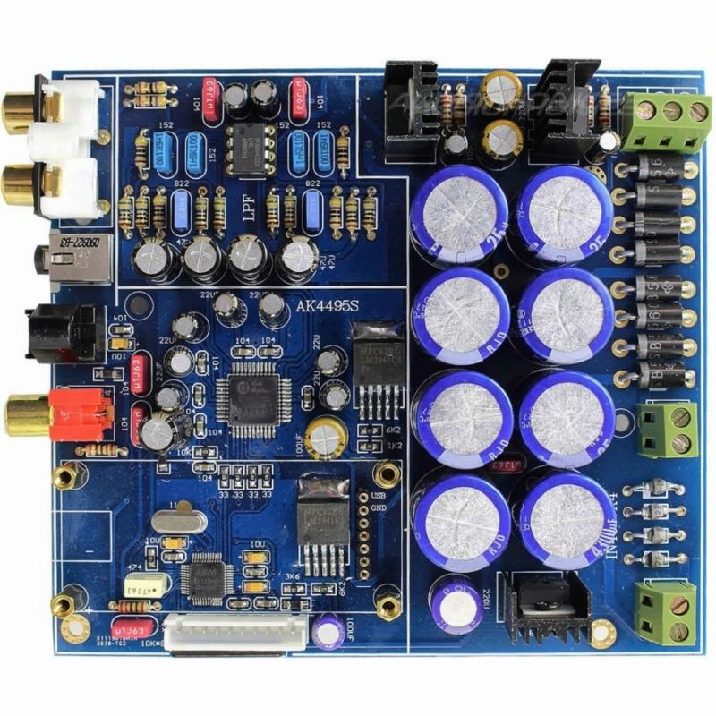 Condensateurs de liaison - DAC Diy Module10