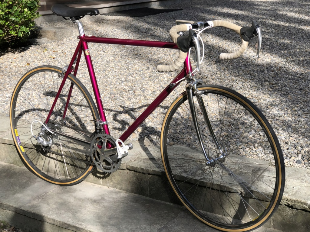 Identification SVP. Cadre repeint. Colombus mid 90' full Campagnolo Dae9a010