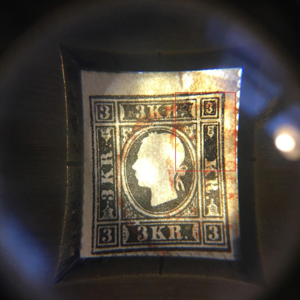 Die Freimarkenausgabe 1858: 3 Kronen Type II auf Brief - Plumpe Fälschung oder Glücksfund? Ank1110