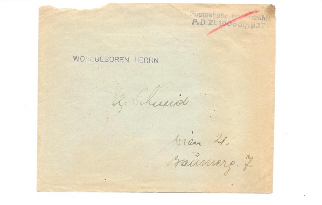 II. Wiener Aushilfsausgabe - Hilfe erbeten bei Frankatur ... Bild_310