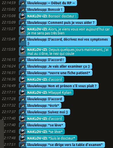 [CHU] Rapports D'actions RP de Lilouleloupp Captur39
