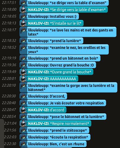 [CHU] Rapports D'actions RP de Lilouleloupp Captur40