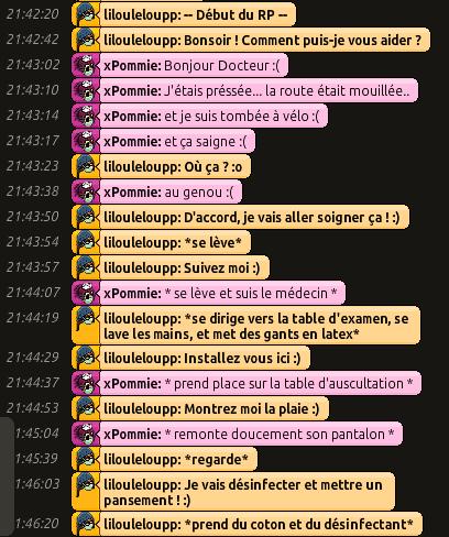 [CHU] Rapports D'actions RP de Lilouleloupp Captur48