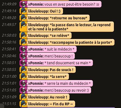 [CHU] Rapports D'actions RP de Lilouleloupp Captur50