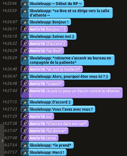 [CHU] Rapports D'actions RP de Lilouleloupp Captur69