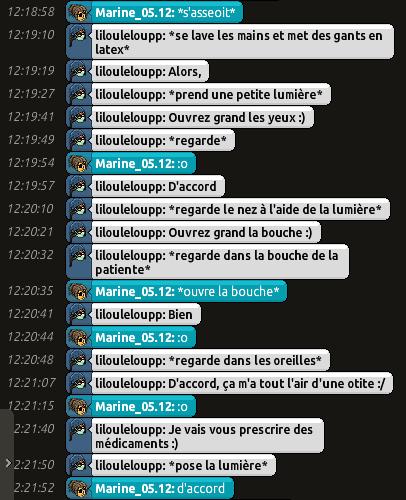 [CHU] Rapports D'actions RP de Lilouleloupp Captur77