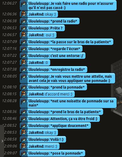 [CHU] Rapports D'actions RP de Lilouleloupp Captur87