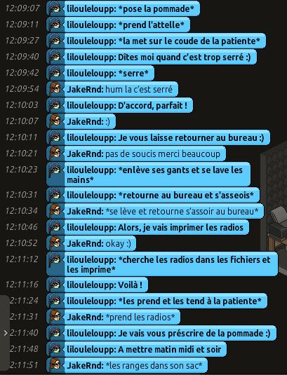 [CHU] Rapports D'actions RP de Lilouleloupp Captur88