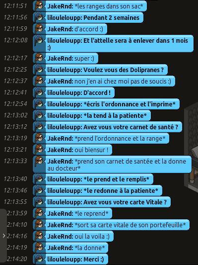 [CHU] Rapports D'actions RP de Lilouleloupp Captur89
