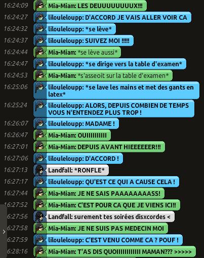 [CHU] Rapports D'actions RP de Lilouleloupp Captur93