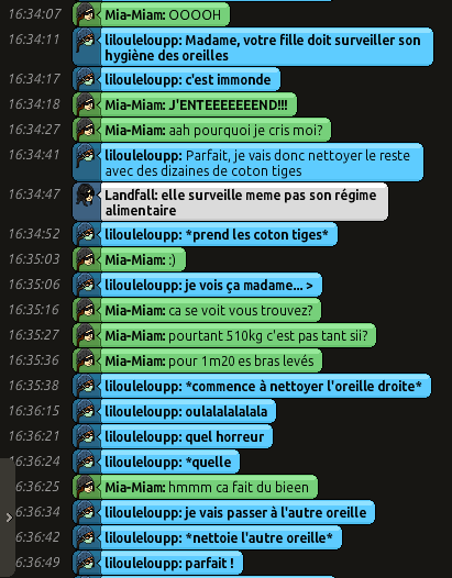 [CHU] Rapports D'actions RP de Lilouleloupp Captur96