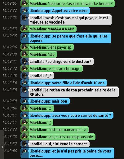 [CHU] Rapports D'actions RP de Lilouleloupp Captur97