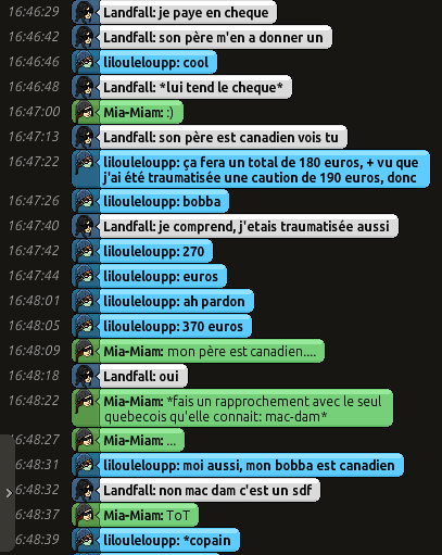 [CHU] Rapports D'actions RP de Lilouleloupp Captur99