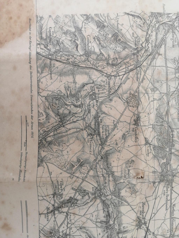 Estimation carte allemande 1915 15968915
