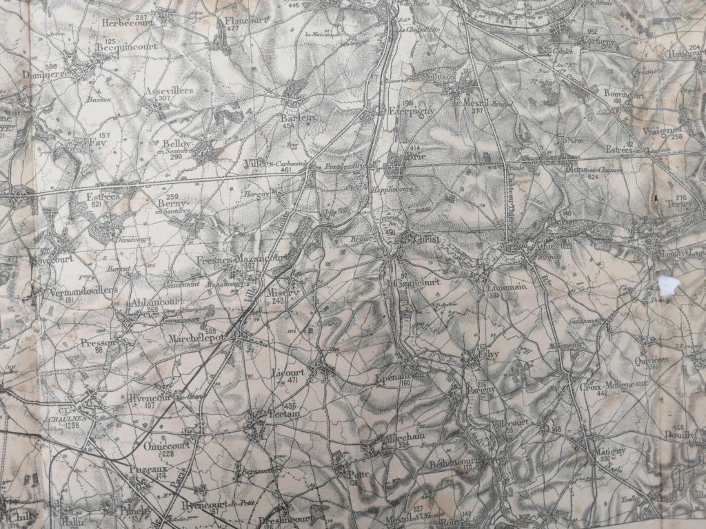 Estimation carte allemande 1915 15968916