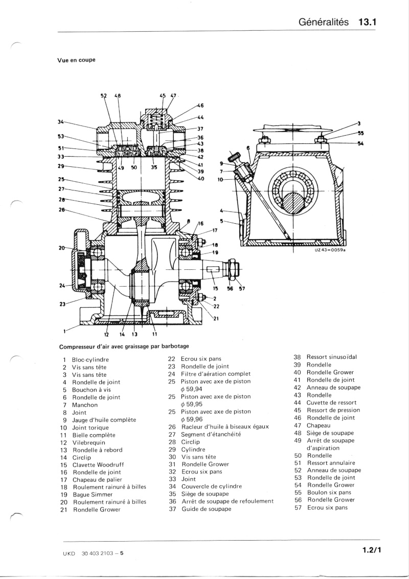 compresseur westingHouse 79P4 : fuite huile reniflard Compre11